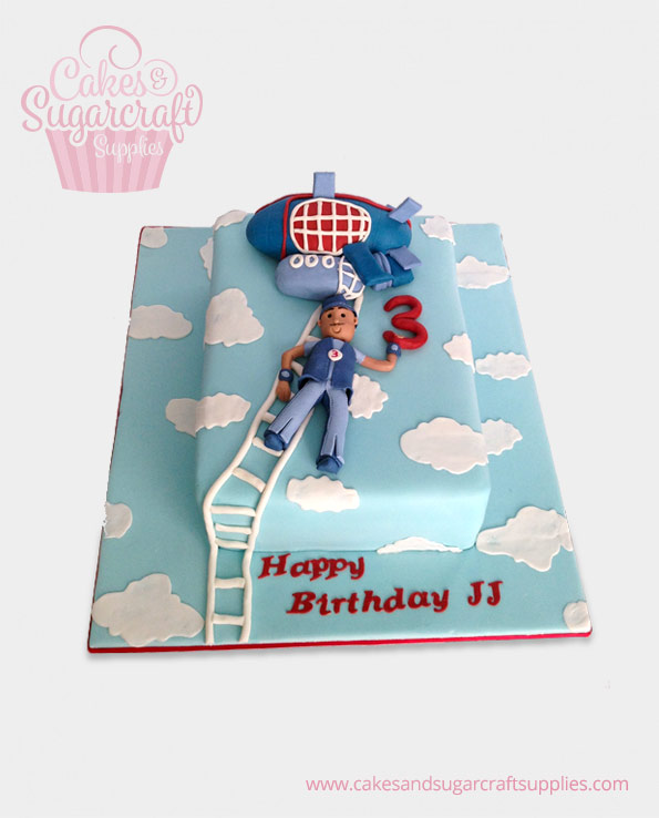 Lazy Town Birthday Cake