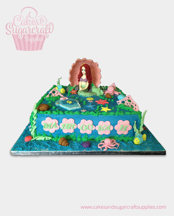 Little Mermaid Cake Decorating Kit Uk : little-mermaid-cake - Cakes & Sugarcraft Supplies