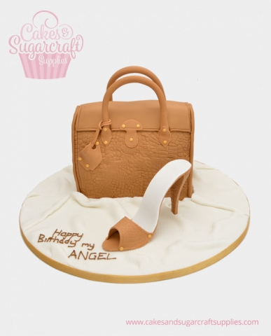 Handbag shoe Birthday Cake