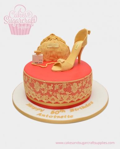 jimmy ChooBirthday Cake