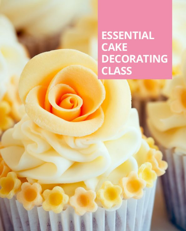 Cake Decorating Class Description : Essential Cake Decorating Class - Cakes & Sugarcraft Supplies