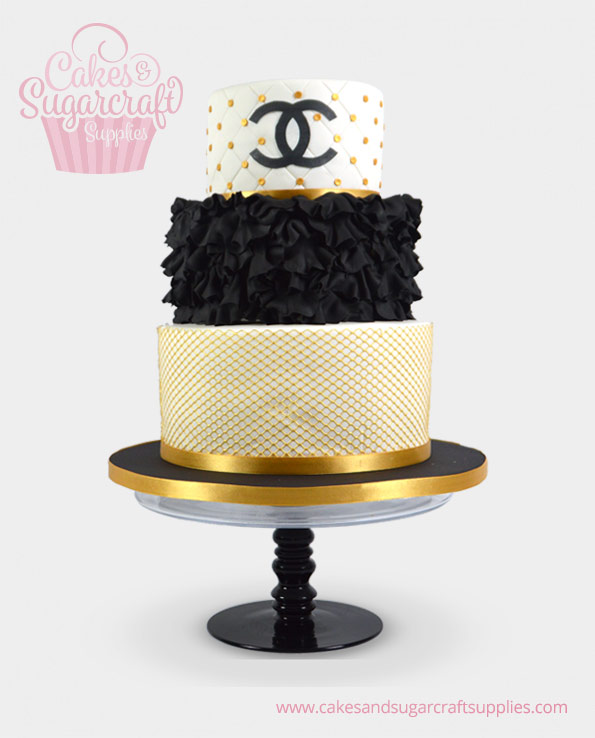 Chanel Birthday Cake