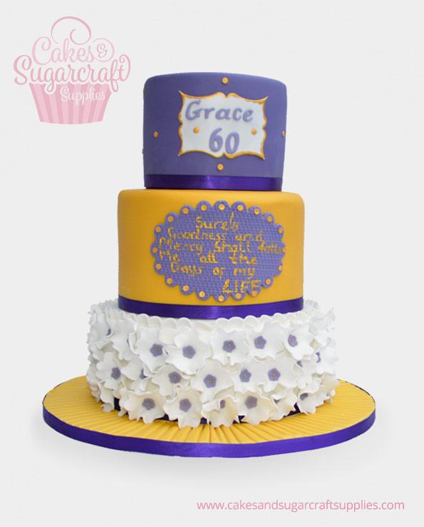 Grace Birthday Cake