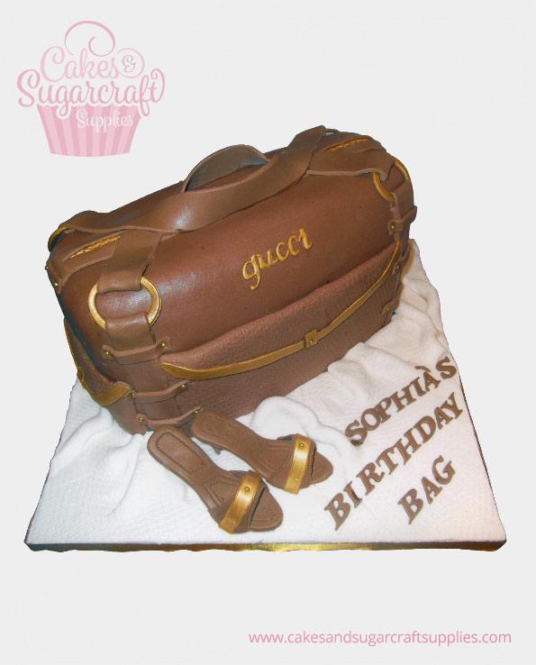 Gucci Bag Birthday Cake