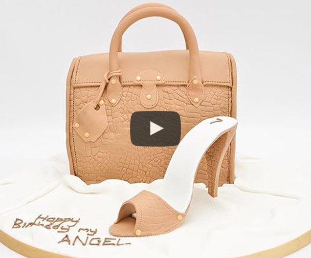 Handbag Cake Video