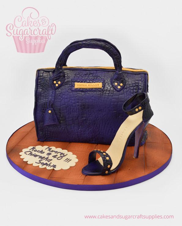 Karen Millen Handbag Birthday Cake
