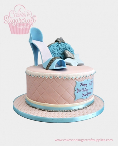 Shoe Birthday Cake