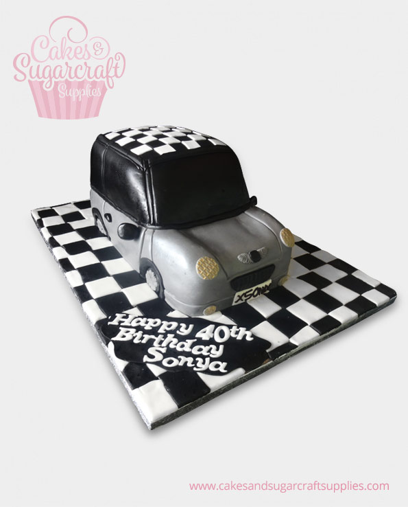 Mini Car Birthday Cake
