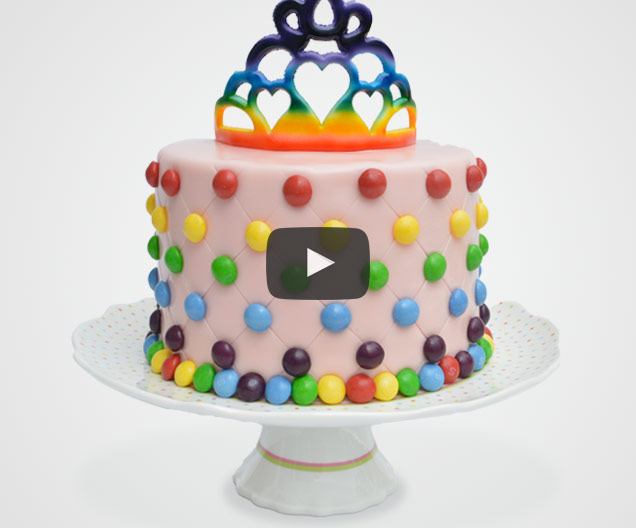 Princess Tiara Cake Video