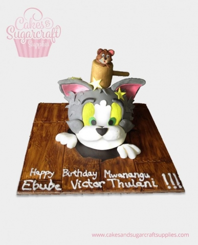 Tom & Jerry Birthday Cake