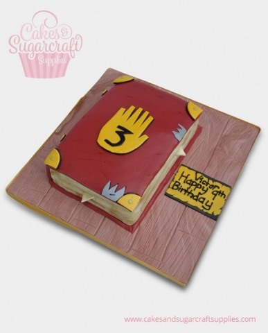 Gravity Falls Birthday Cake