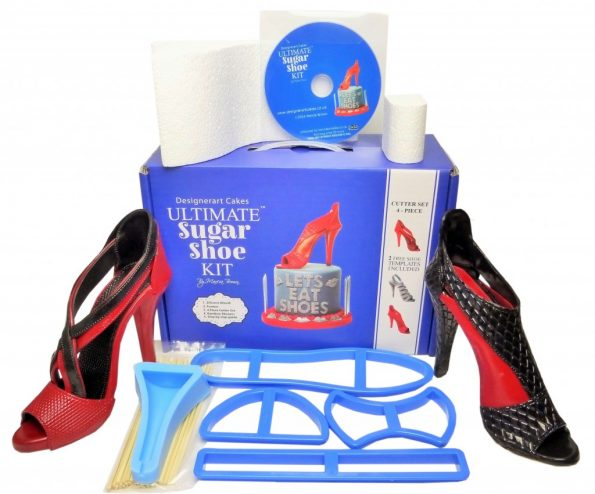 Designerart Cakes New Revised Ultimate High Heel Sugar Shoe Cake Kit