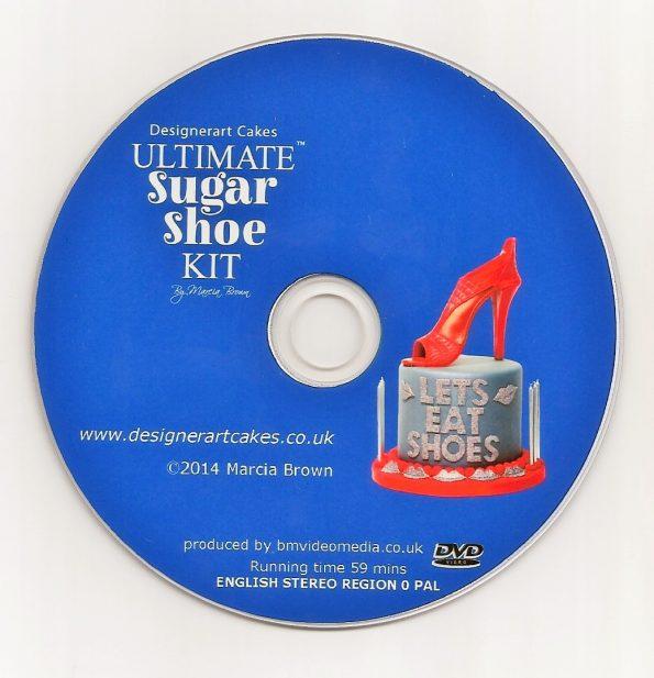 Ultimate High Heel Sugar Shoe Cake Tutorial DVD