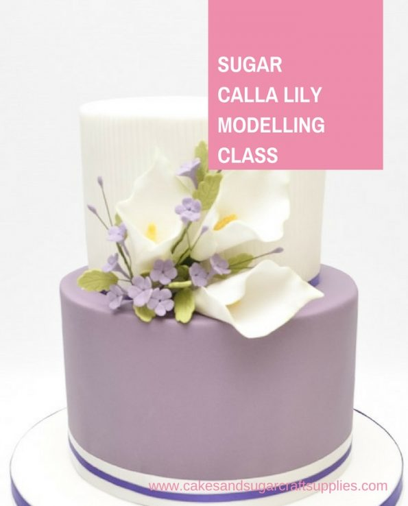 Sugar Calla Lily Modelling Class