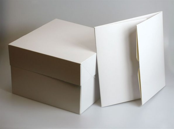 White cake box 16 inches